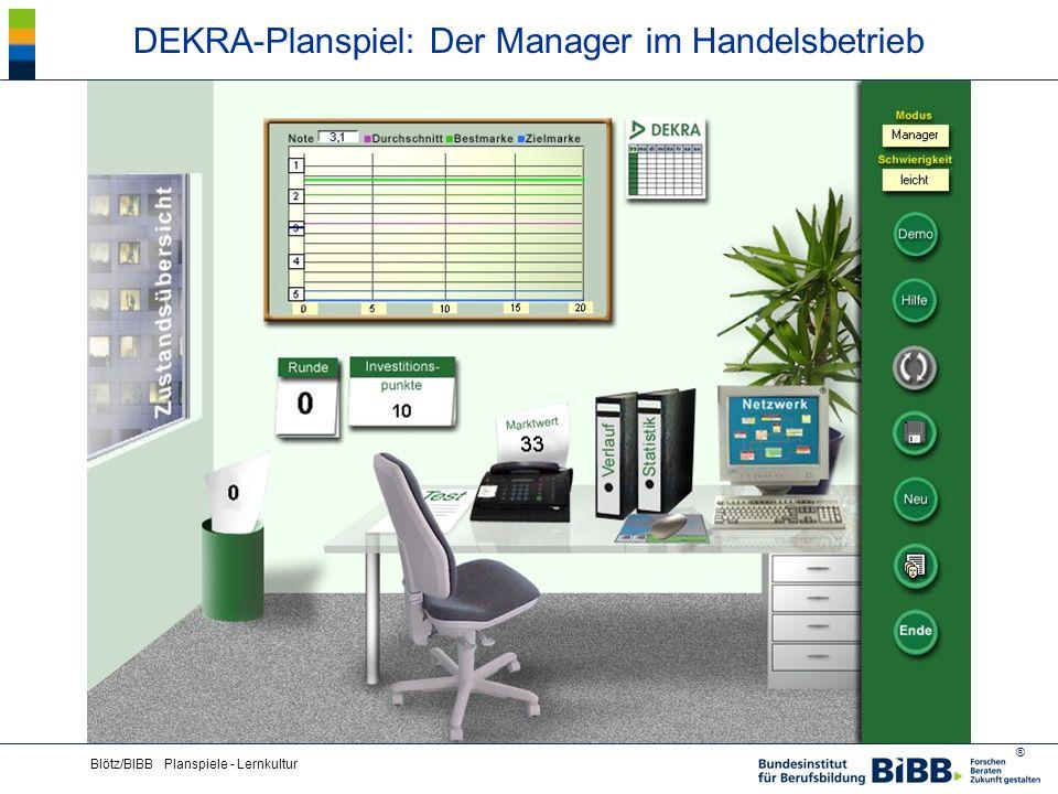 DEKRA-Planspiel: Der Manager im Handelsbetrieb