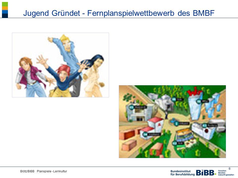 Jugend Gründet - Fernplanspielwettbewerb des BMBF