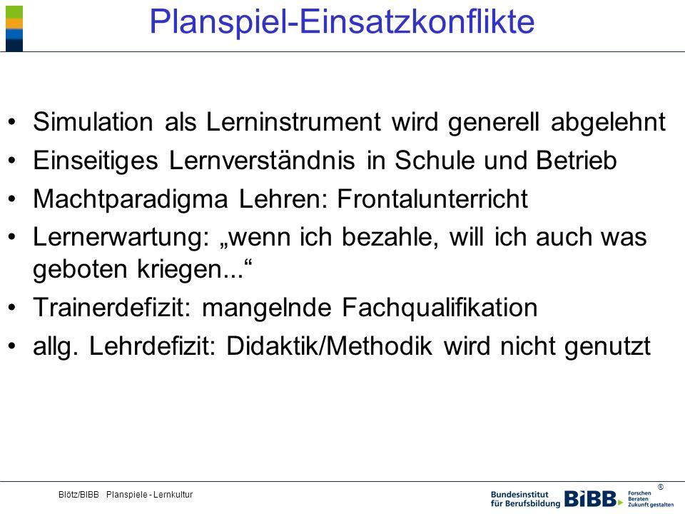 Planspiel-Einsatzkonflikte