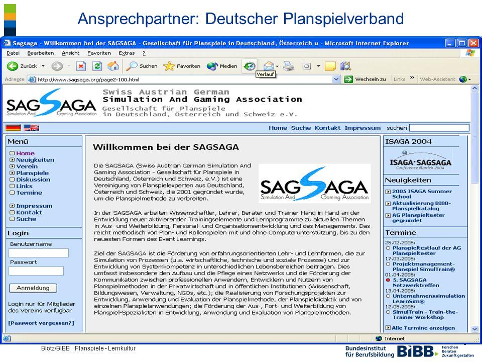 Ansprechpartner: Deutscher Planspielverband