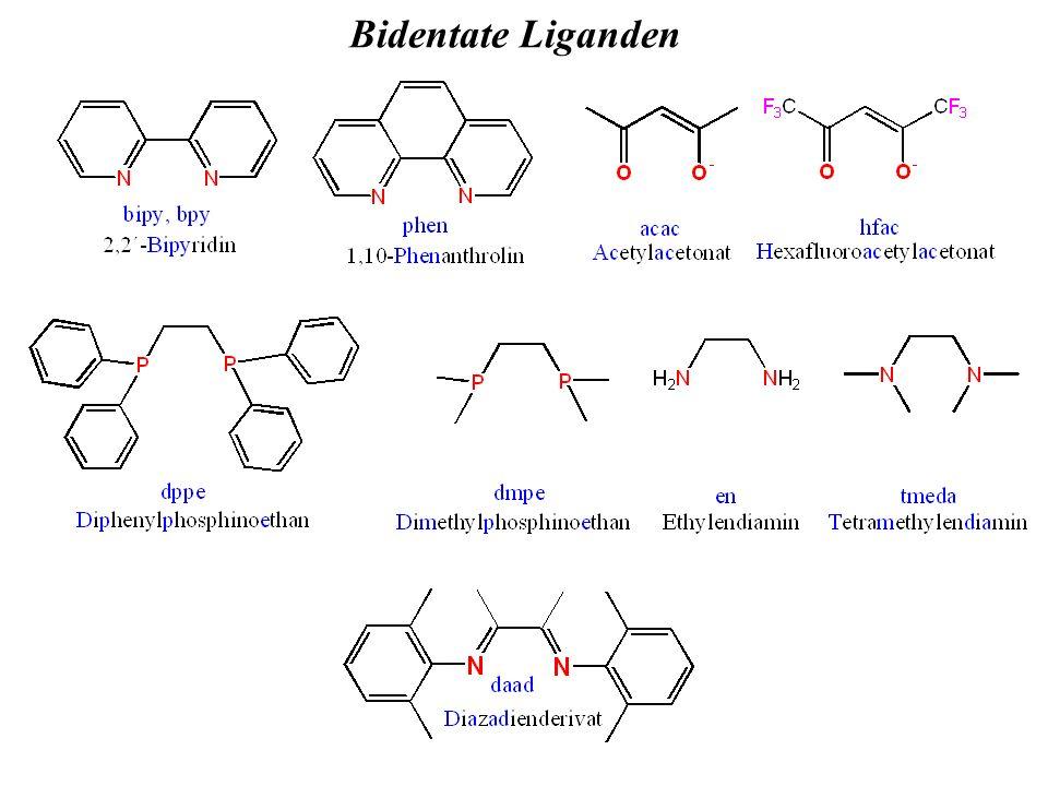 Bidentate Liganden