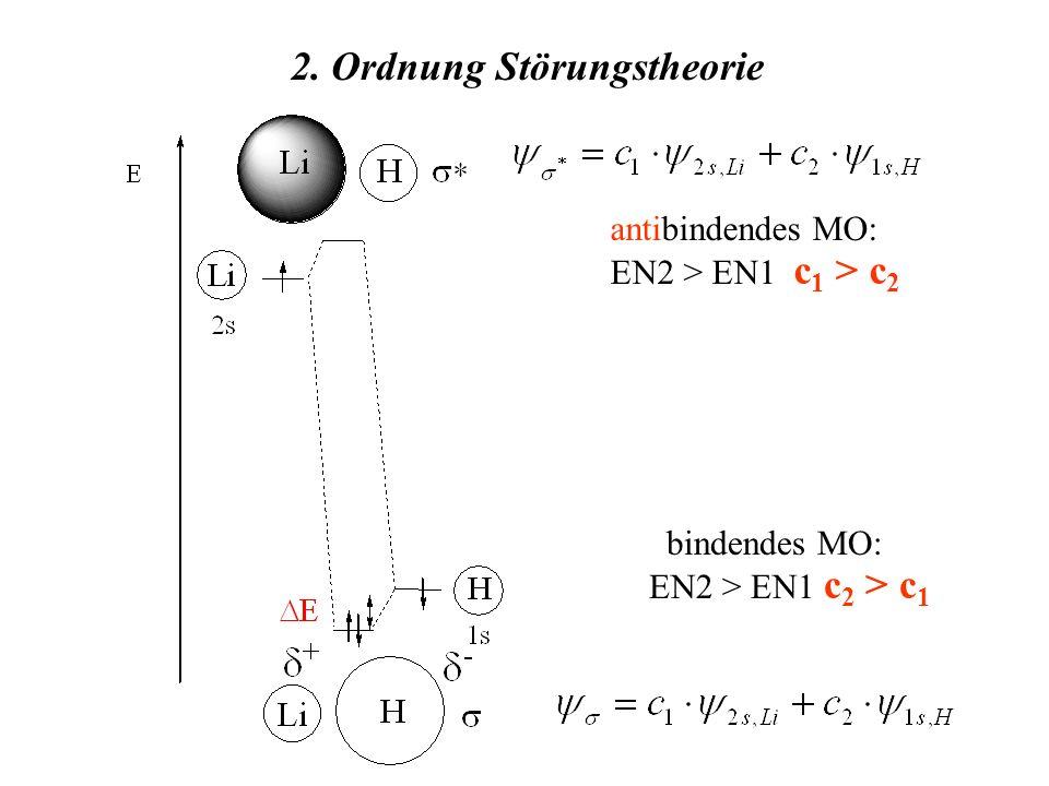 2. Ordnung Störungstheorie