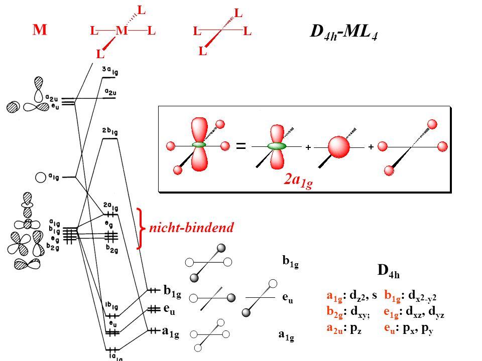D4h-ML4 M D4h nicht-bindend b1g