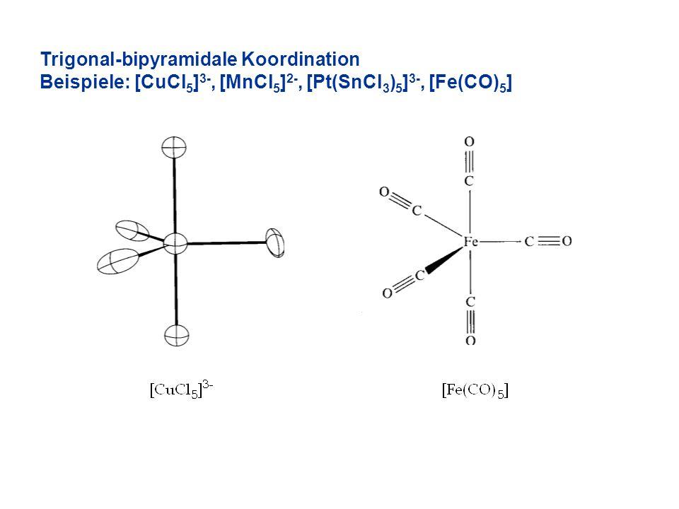 Trigonal-bipyramidale Koordination