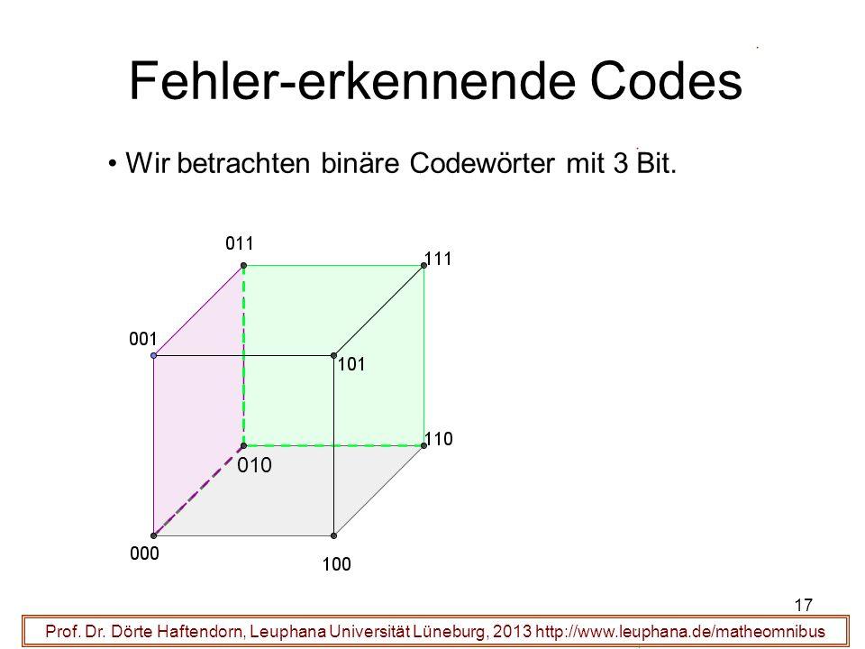 Fehler-erkennende Codes
