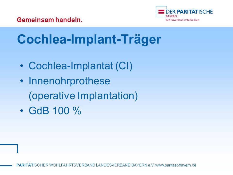 Cochlea-Implant-Träger