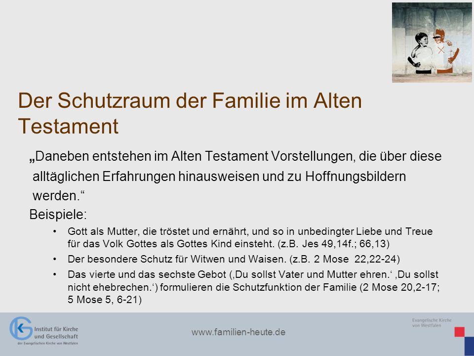 Der Schutzraum der Familie im Alten Testament