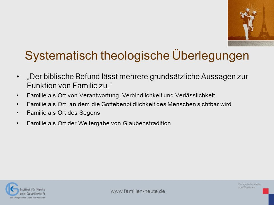 Systematisch theologische Überlegungen