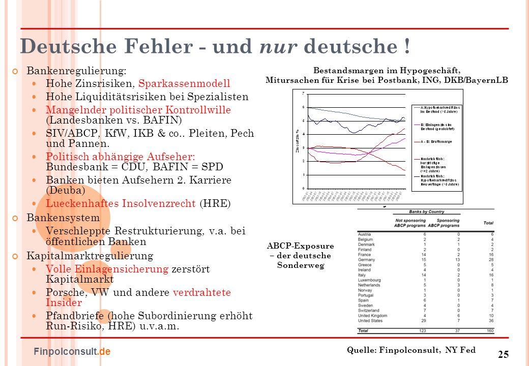 Deutsche Fehler - und nur deutsche !