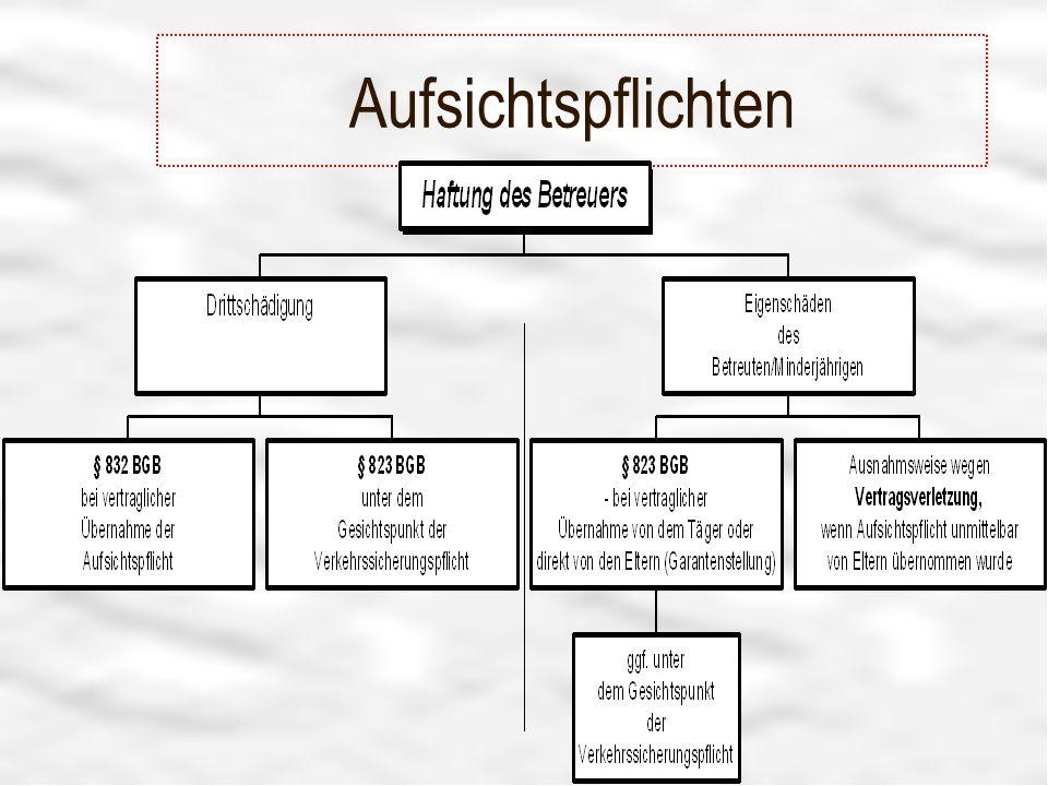 Aufsichtspflichten Tafel 2008 - R.Hissler - Vereinsberater
