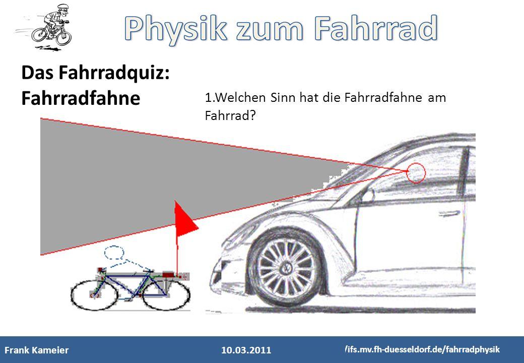 Das Fahrradquiz: Fahrradfahne
