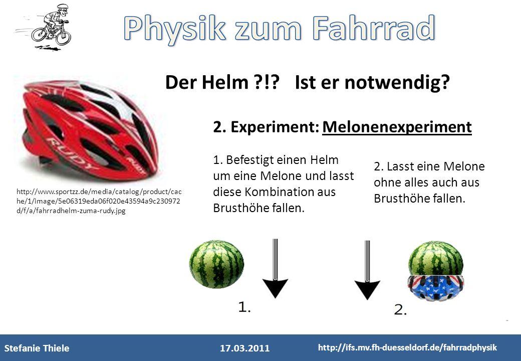Der Helm ! Ist er notwendig
