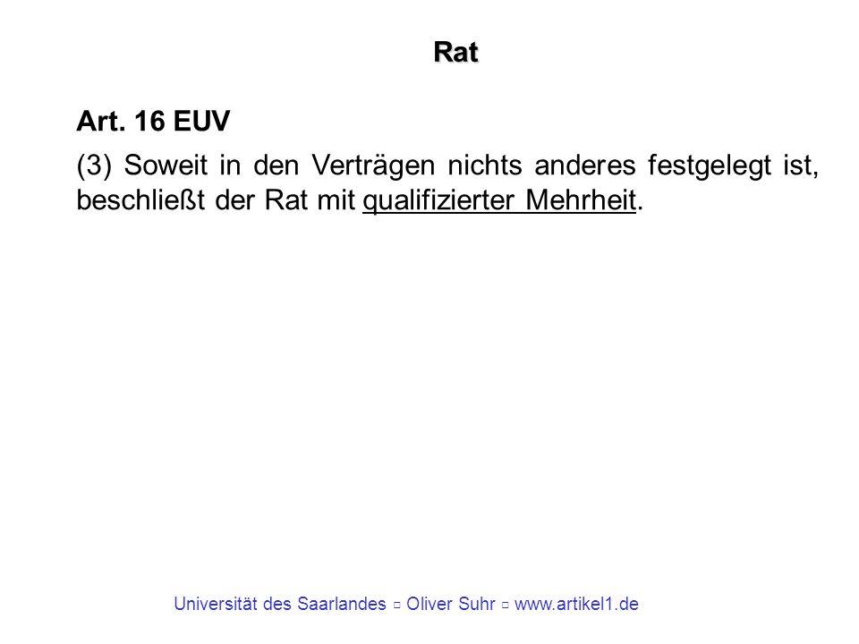 Rat Art. 16 EUV.