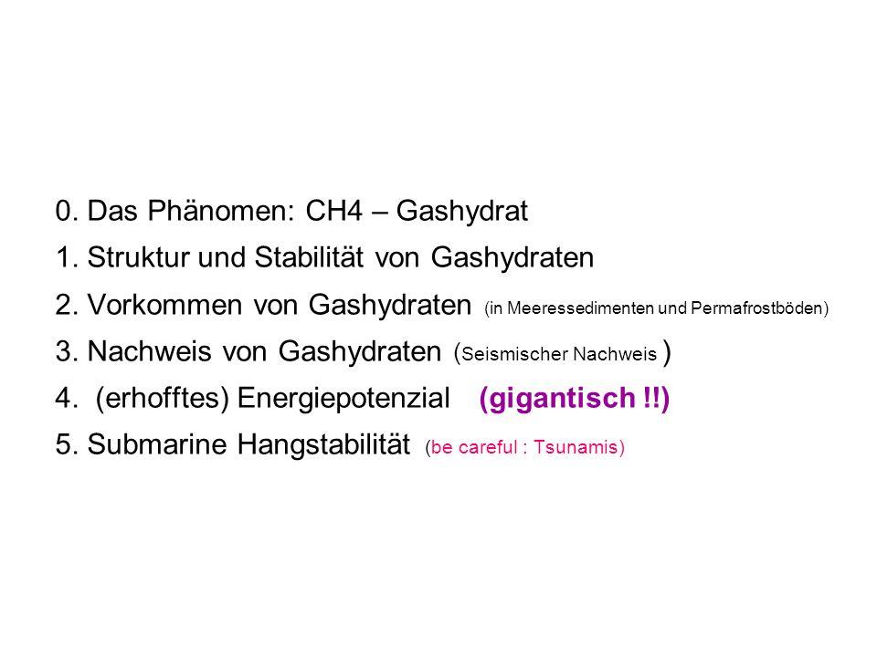 Das Phänomen: CH4 – Gashydrat 1
