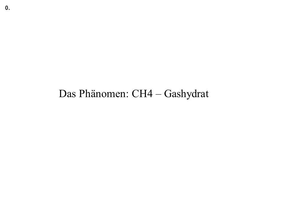 Das Phänomen: CH4 – Gashydrat
