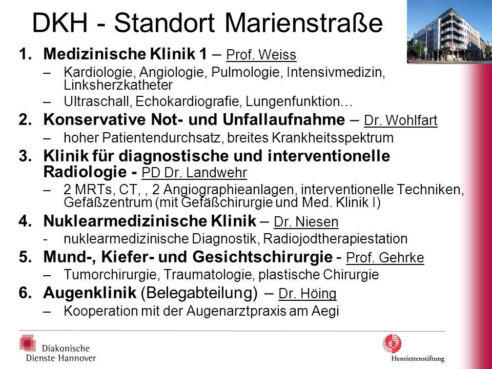 DKH - Standort Marienstraße