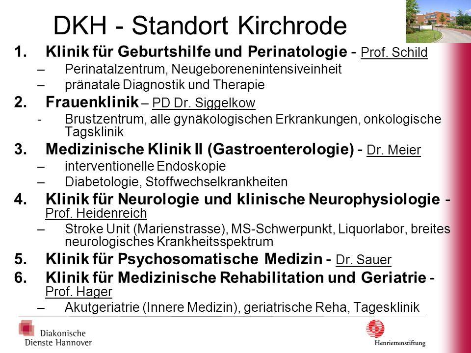 DKH - Standort Kirchrode