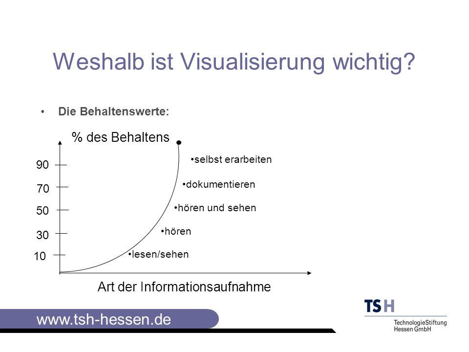 Weshalb ist Visualisierung wichtig