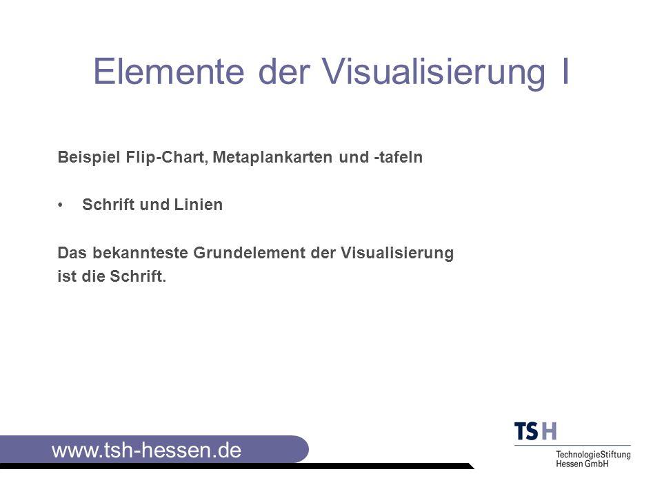 Elemente der Visualisierung I