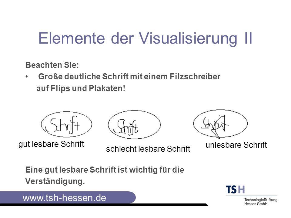 Elemente der Visualisierung II