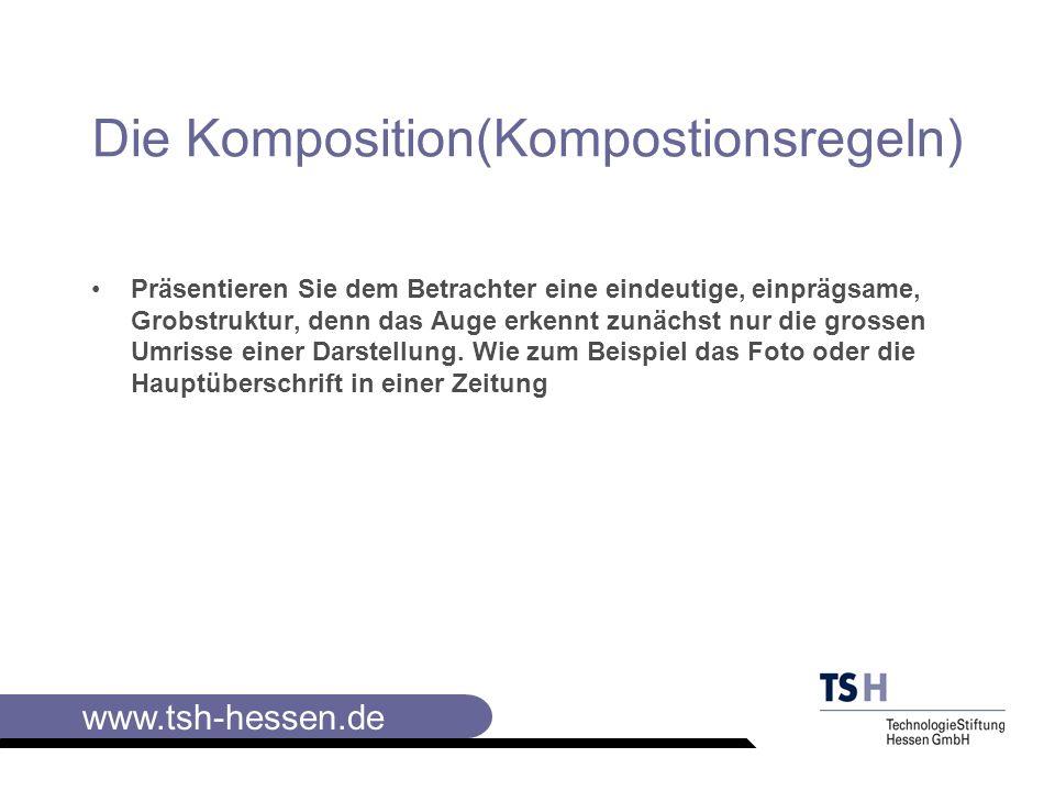 Die Komposition(Kompostionsregeln)
