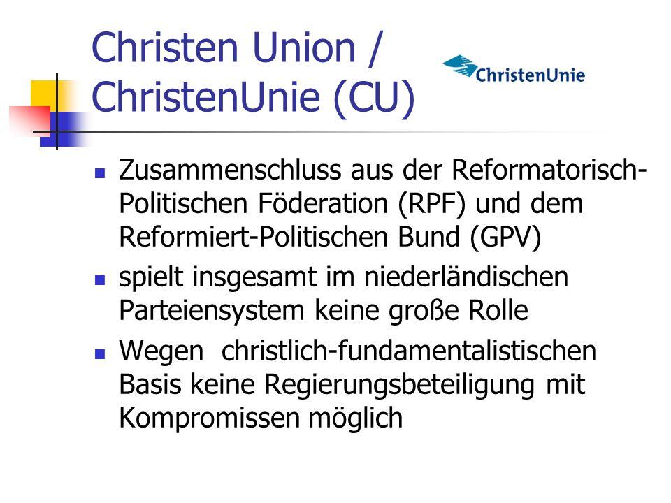 Christen Union / ChristenUnie (CU)