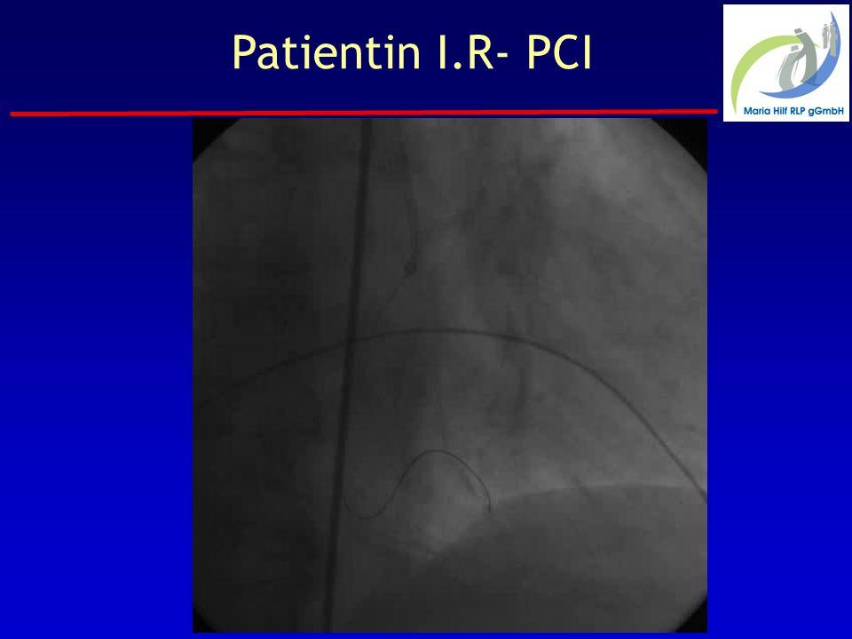 Patientin I.R- PCI