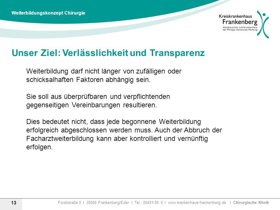 Unser Ziel: Verlässlichkeit und Transparenz