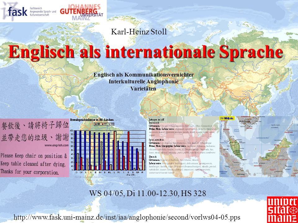 Englisch als internationale Sprache