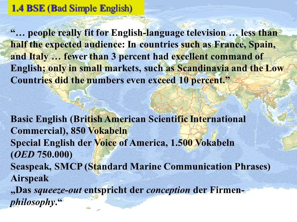 1.4 BSE (Bad Simple English)