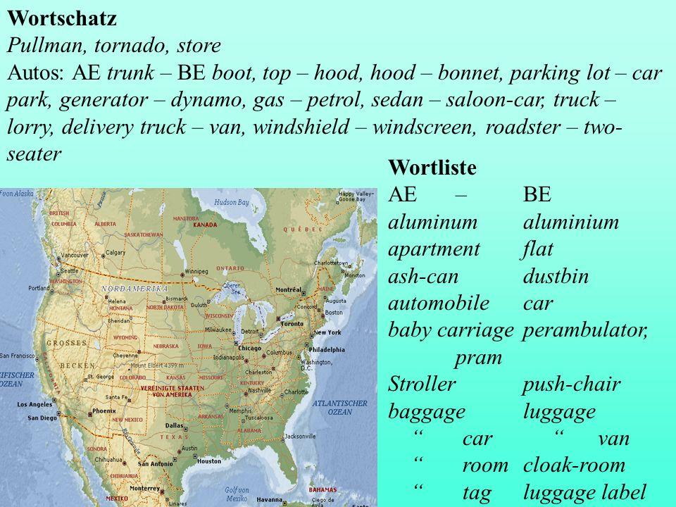 Wortschatz Pullman, tornado, store.