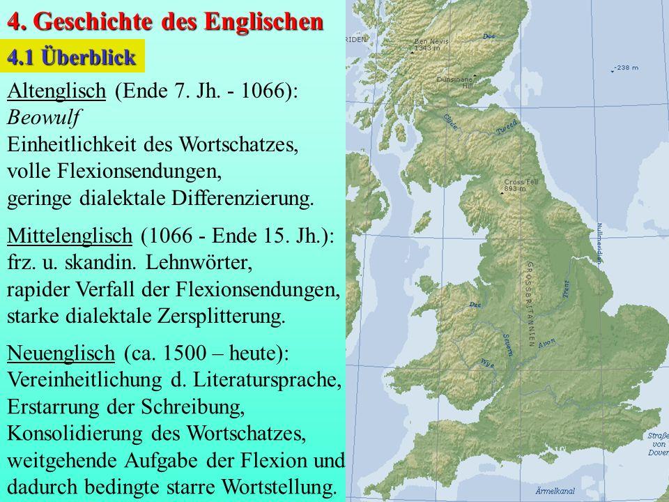4. Geschichte des Englischen