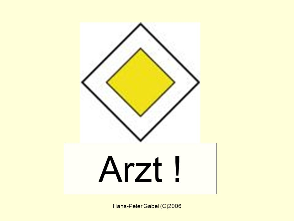 Arzt ! Arzt Hans-Peter Gabel (C)2006
