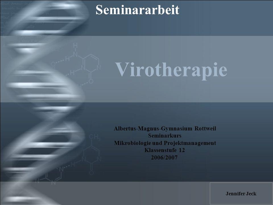Albertus-Magnus-Gymnasium Rottweil Mikrobiologie und Projektmanagement