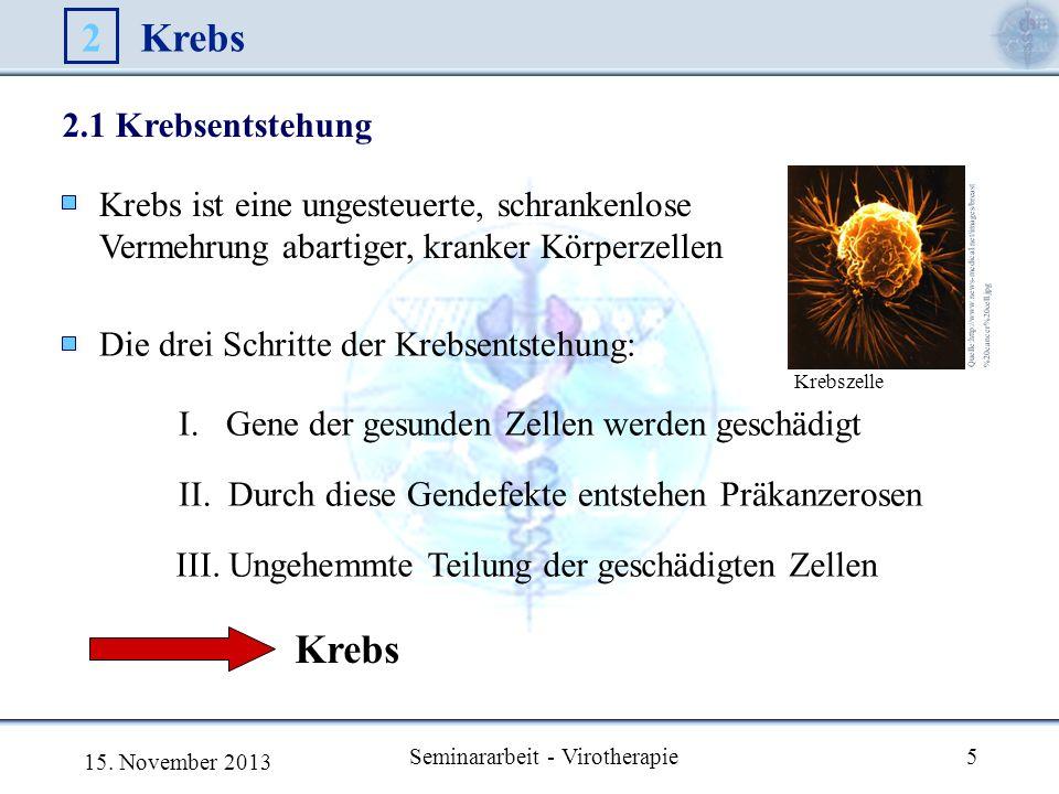 Seminararbeit - Virotherapie