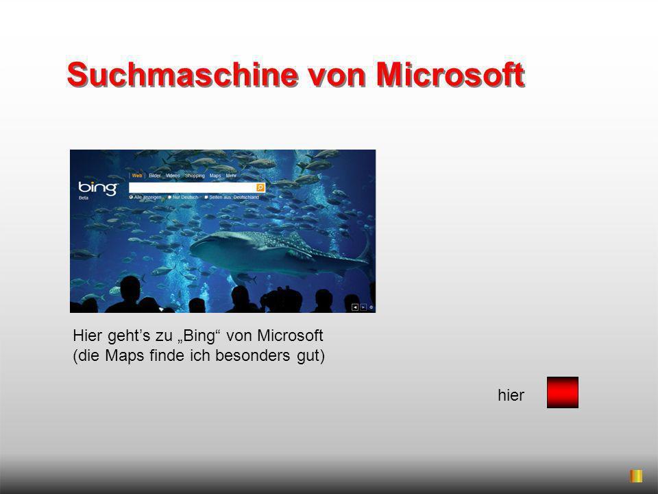 Suchmaschine von Microsoft