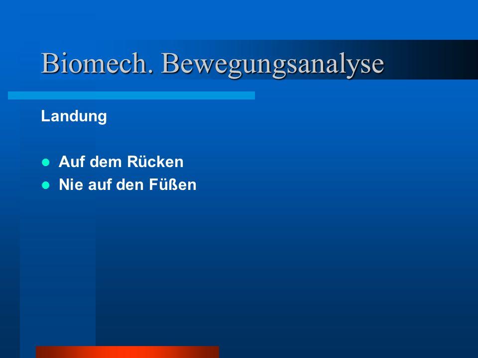 Biomech. Bewegungsanalyse