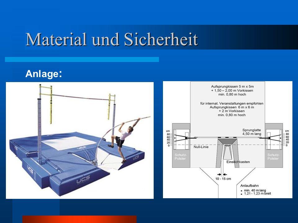 Material und Sicherheit