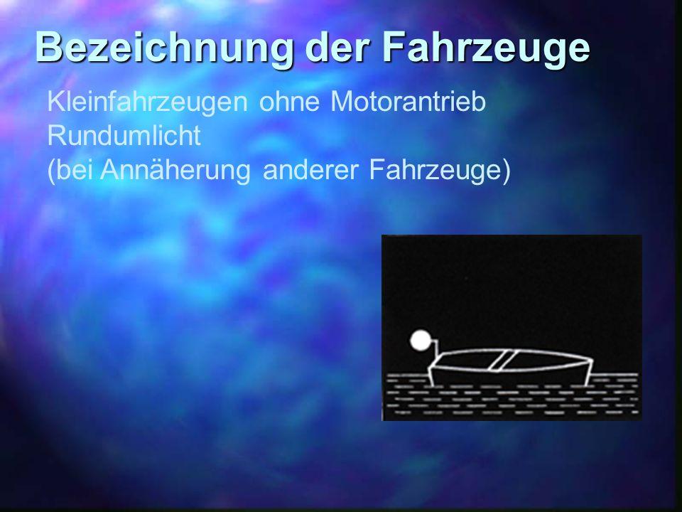 Bezeichnung der Fahrzeuge