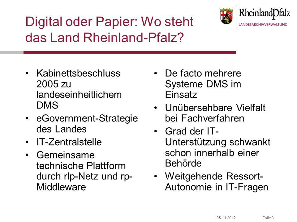 Digital oder Papier: Wo steht das Land Rheinland-Pfalz