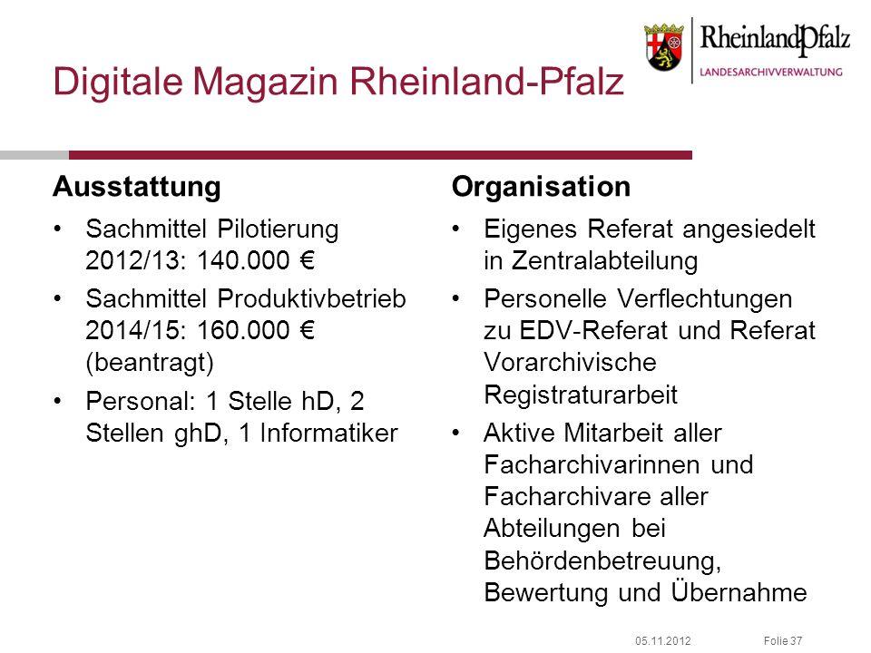 Digitale Magazin Rheinland-Pfalz