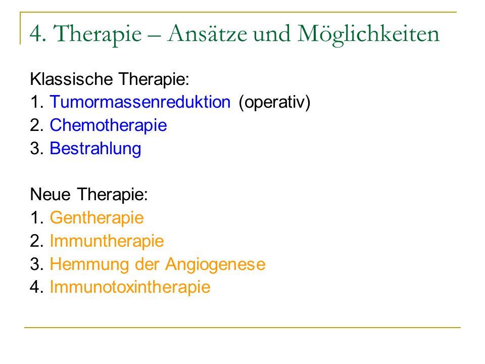 4. Therapie – Ansätze und Möglichkeiten