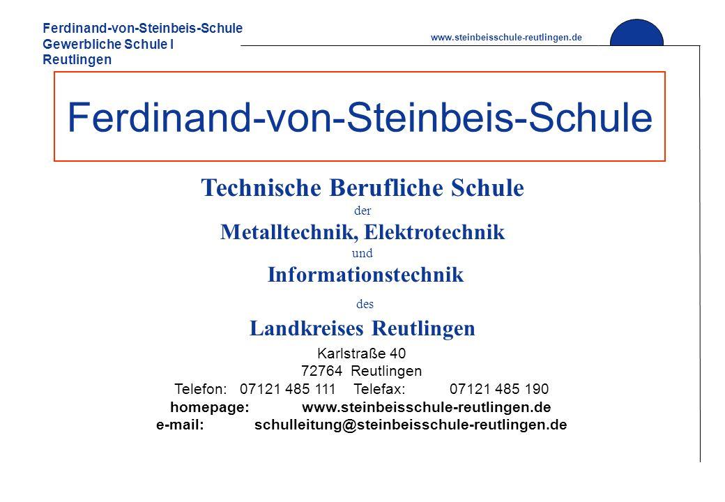 Ferdinand-von-Steinbeis-Schule
