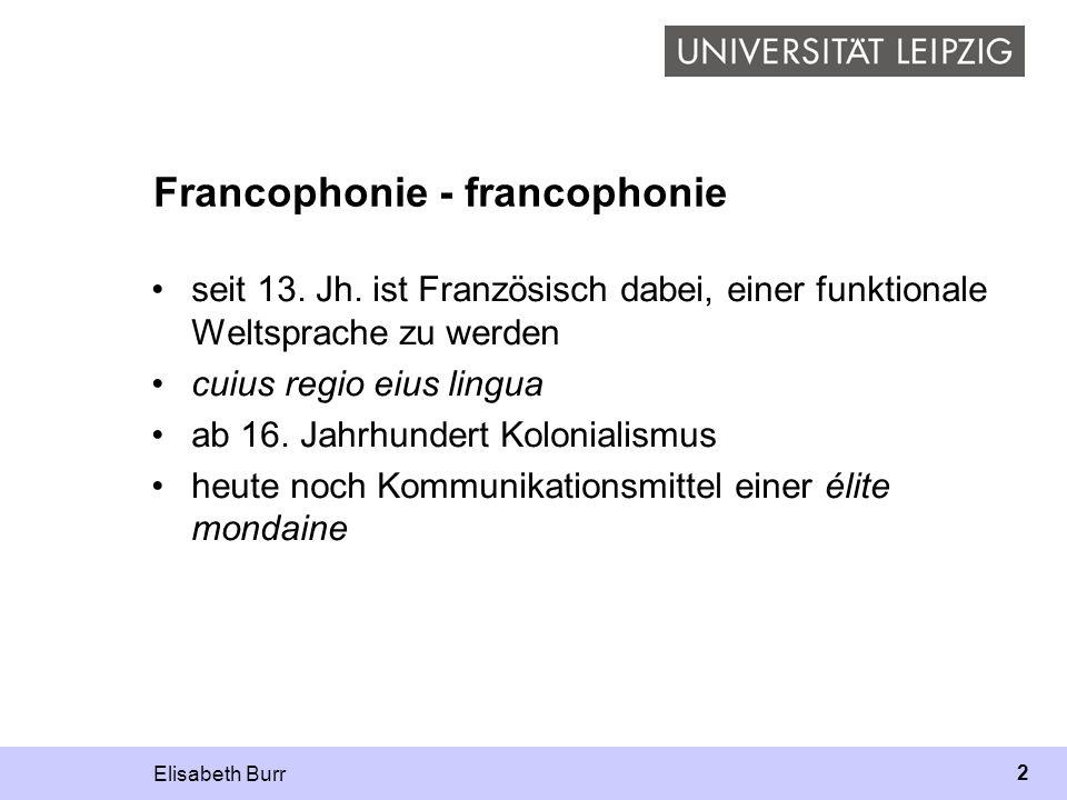 Francophonie - francophonie