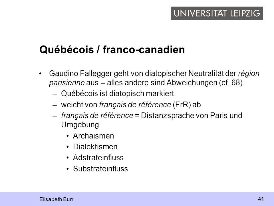 Québécois / franco-canadien