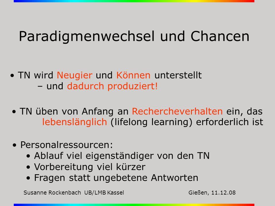 Paradigmenwechsel und Chancen