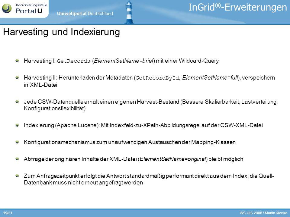 InGrid®-Erweiterungen