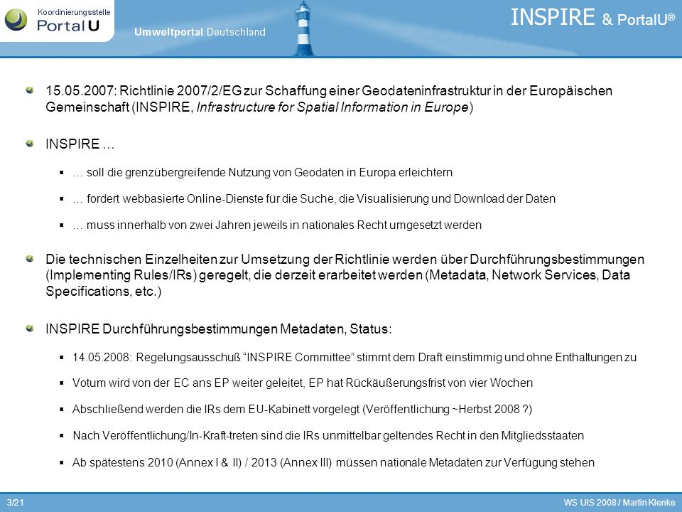 INSPIRE & PortalU®