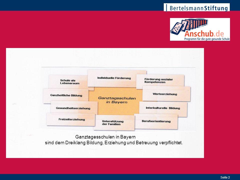 Ganztagesschulen in Bayern