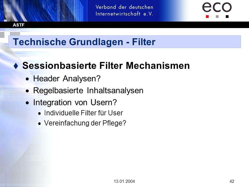 Technische Grundlagen - Filter